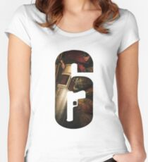 Rainbow Six Siege T-Shirt Women's Fitted Scoop T-Shirt