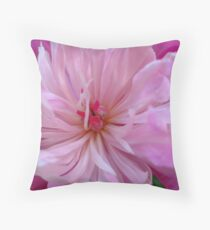 Pink Collage Throw Pillow