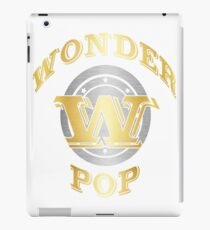 Wonder Pop T Shirt Gift For Super Grandpa On Special Day iPad Case/Skin