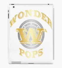 Wonder Pops T Shirt Gift For Super Grandpa On Special Day iPad Case/Skin