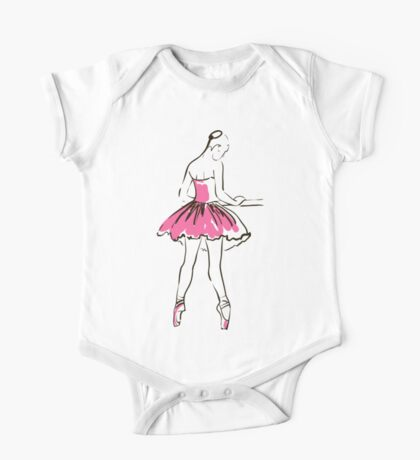 Skizze der Ballerina des Mädchens Kindermode