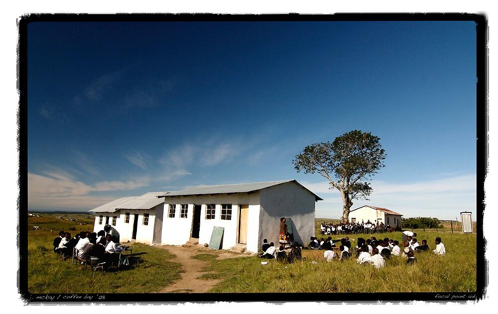 Bekisiwe School, Coffee Bay, South Africa by Joe Mckay