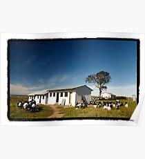 Bekisiwe School, Coffee Bay, South Africa Poster