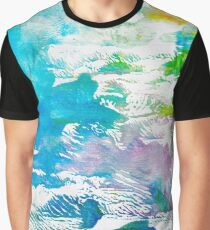 Algae and Aqua - Abstract Painting  Graphic T-Shirt