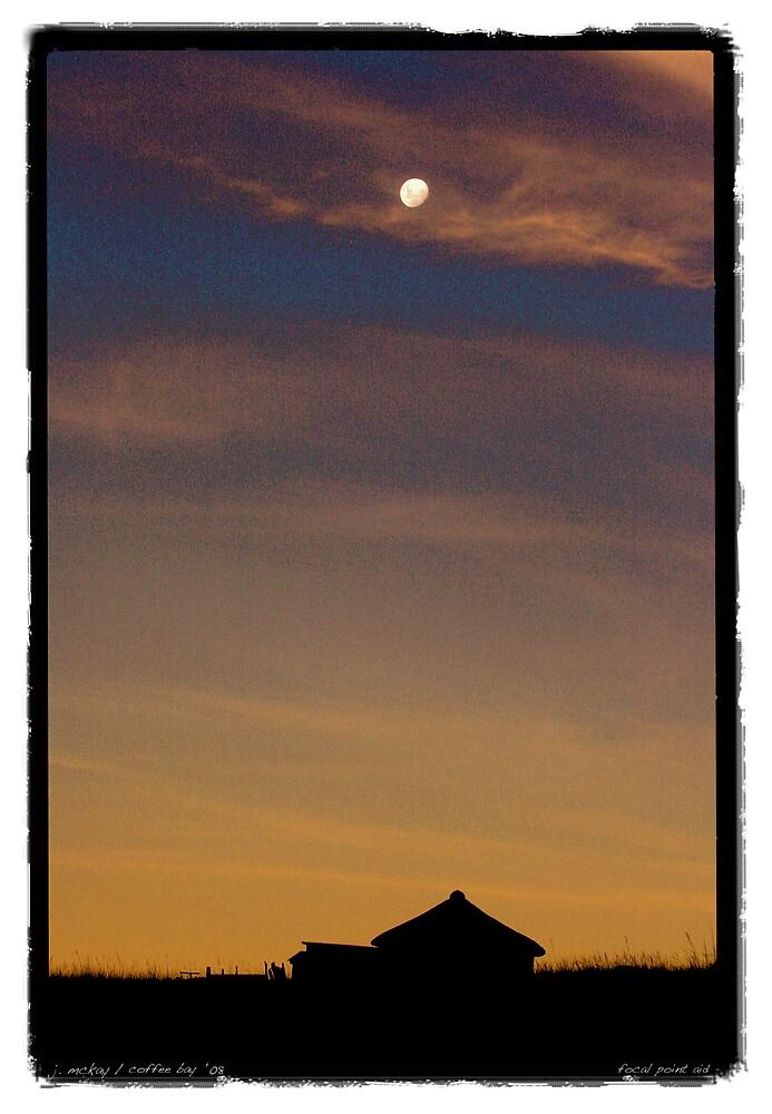 Early Moon by Joe Mckay