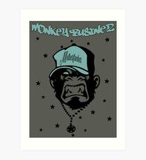 Motherfucker - Monkey Businez Design Art Print