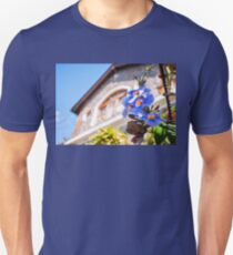 Charming corner of a garden at a lake Atitlan resort  T-Shirt