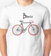 illustration of  vintage bicycle T-Shirt