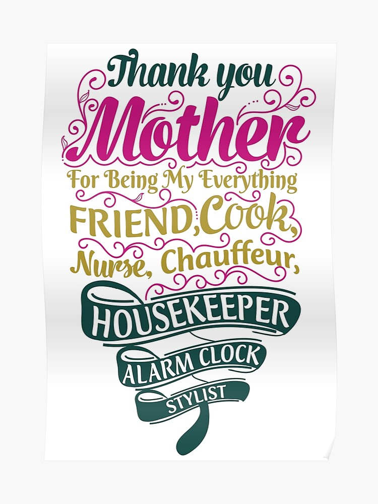 Mother Love, Respect Quote | Poster