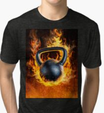 Too Hot to Handle Tri-blend T-Shirt