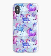 Unicorns in Clouds iPhone Case/Skin