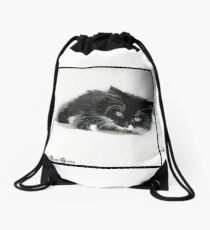 Norweigan Forest Cat Drawstring Bag