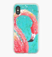 Flaunting Flamingo iPhone Case