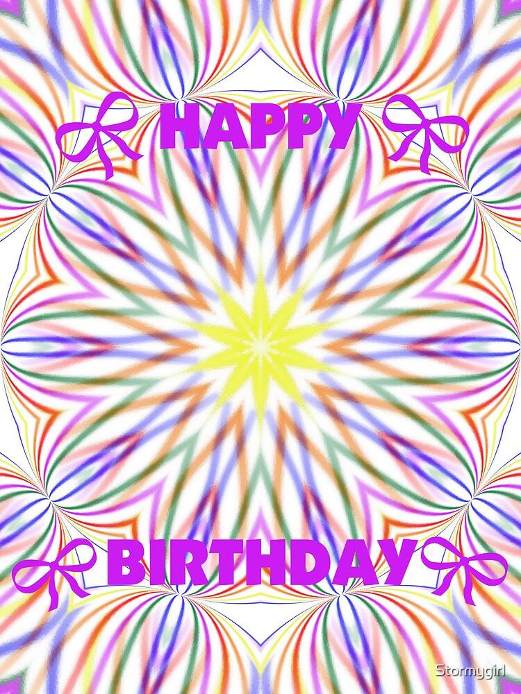 Happy Birthday by Stormygirl