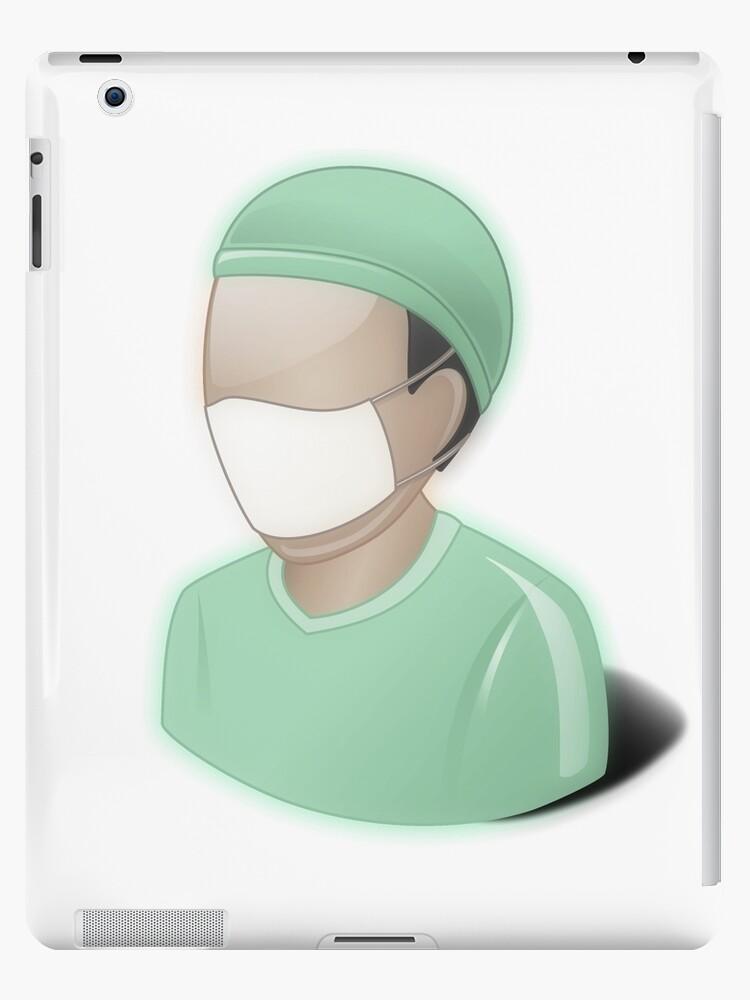 Vinilos y fundas para iPad «Cirujano, matorrales, dr, doctor ...