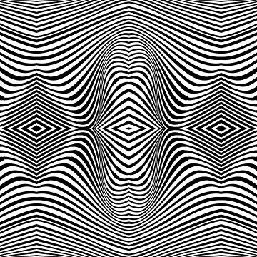 Angular stripes by Myotis