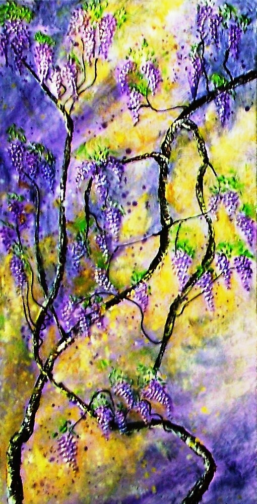 Wisteria 1 by Ciska