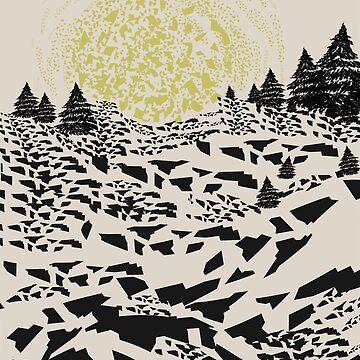 Trippy hills by FLATOWL
