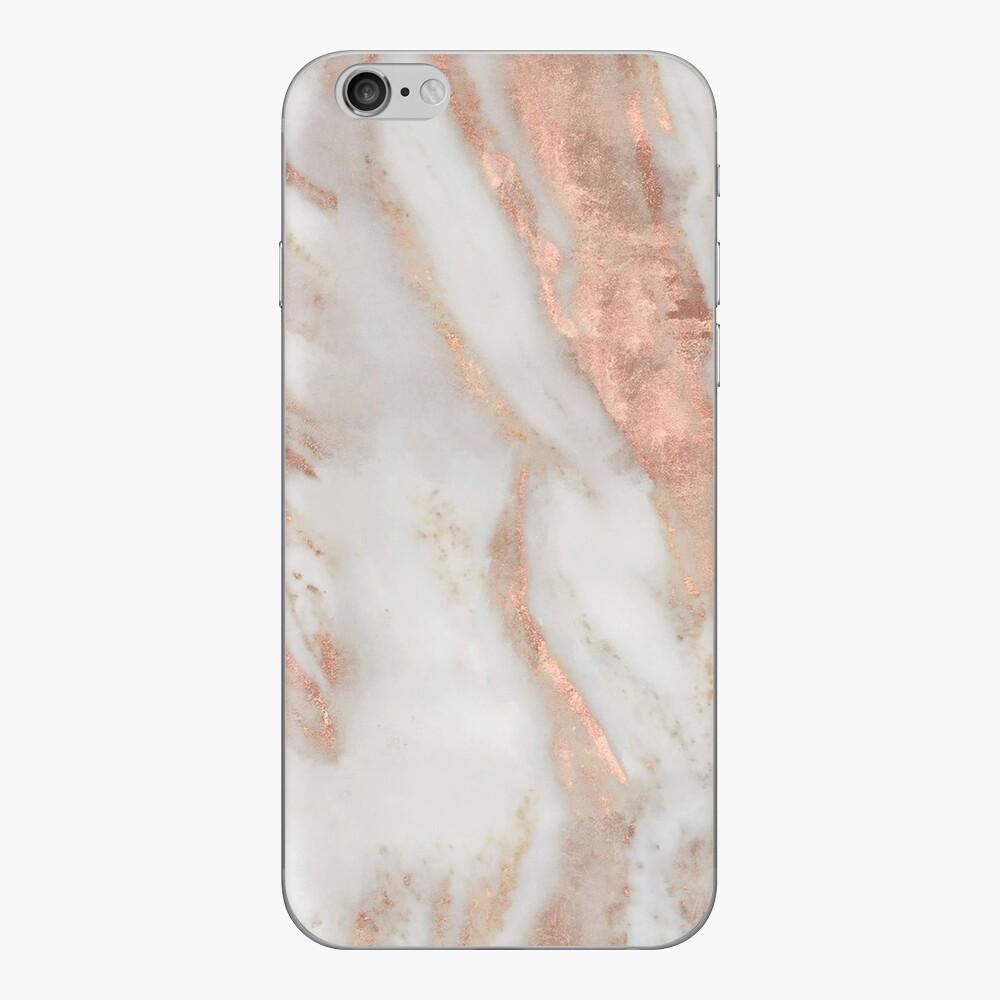 Civezza - rose gold marble iPhone Skin