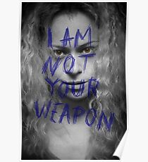 Helena - Weapon - Orphan Black Poster