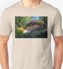 Luxuriant tropical garden at a resort in Guatemala T-Shirt