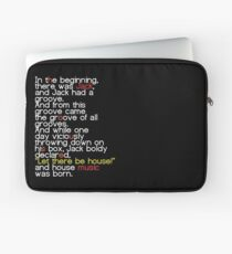 Jack's Groove - Let there be house! Laptop Sleeve