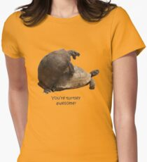 You're Turtley Awesome Women's Fitted T-Shirt