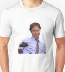 Dwight Impersonating Jim from The Office T-Shirt
