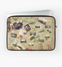 Vintage Collage Laptop Sleeve