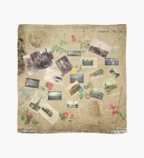 Vintage Collage Scarf