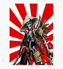 death of a samourai Photographic Print