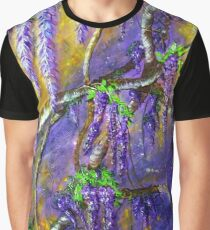 A Shower of Wisteria Graphic T-Shirt