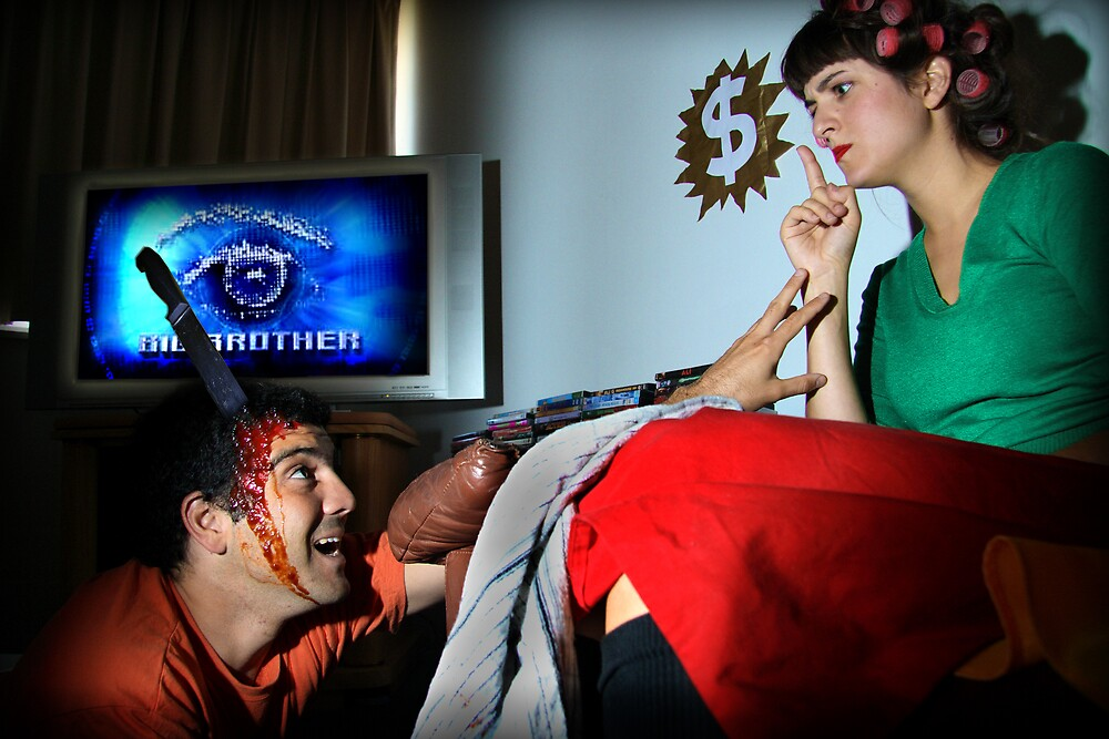 Shh Big Brother is on! by Lucia  Fernandez Muriano