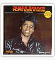 James Brown Plays New Breed, The Boogaloo, Funk, Soul, Mod Sticker