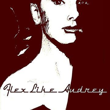 Audrey Hepburn by Jingim24