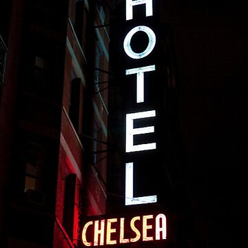 CHELSEA HOTEL - ROCK N' ROLL MONUMENT by SydneyCun