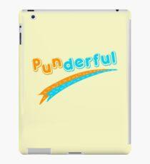Punderful joke funny saying  iPad Case/Skin