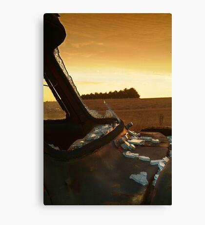 Shattered,Geelong District Canvas Print