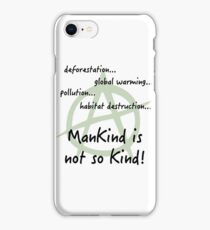 eco anarchy iPhone Case/Skin