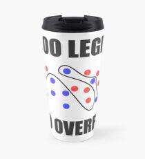 Too Legit to Overfit Travel Mug