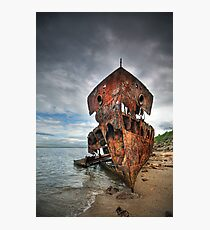 Ghost Ship Photographic Print