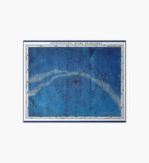 ASTRONOMY NORTHERN CONSTELLATIONS; Vintage Map Print Art Board