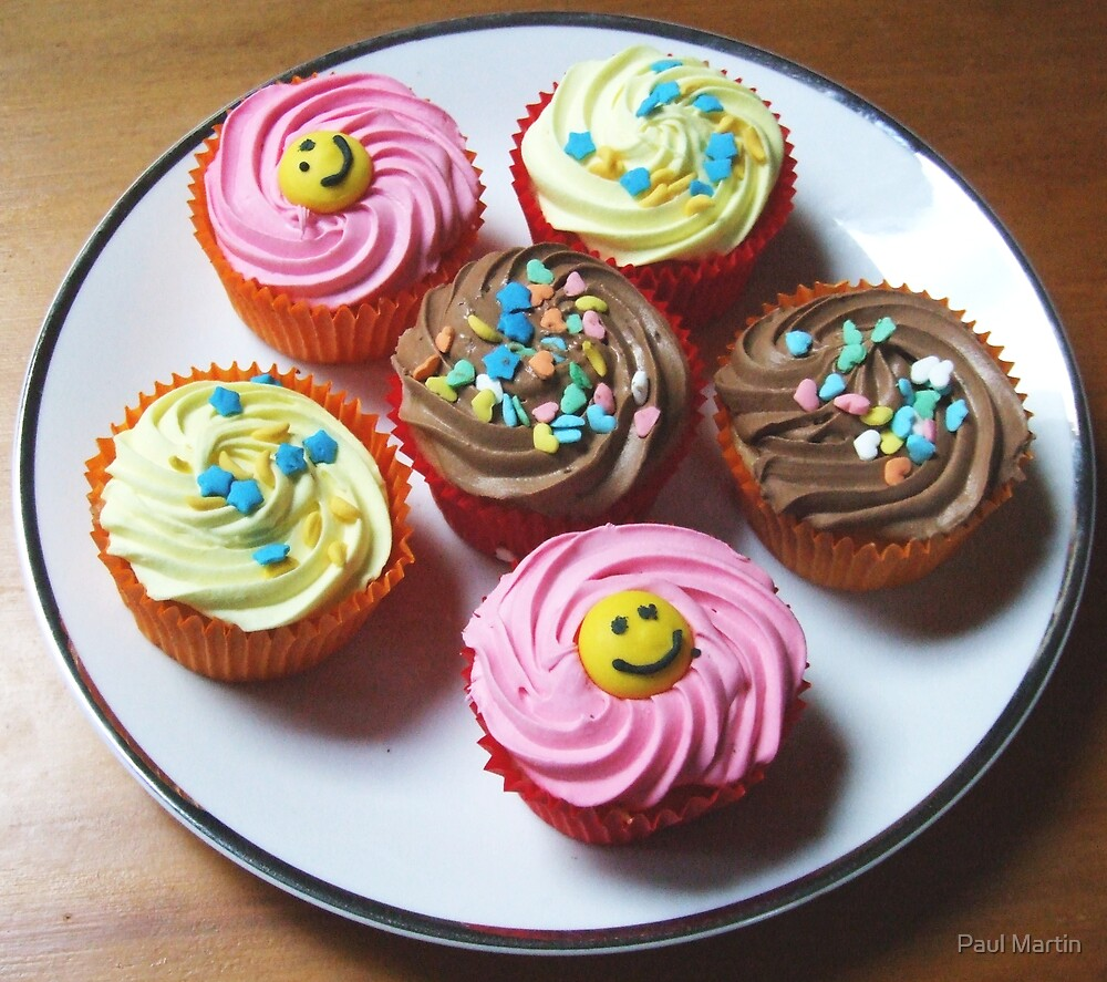 The Cupcakes by Paul Martin