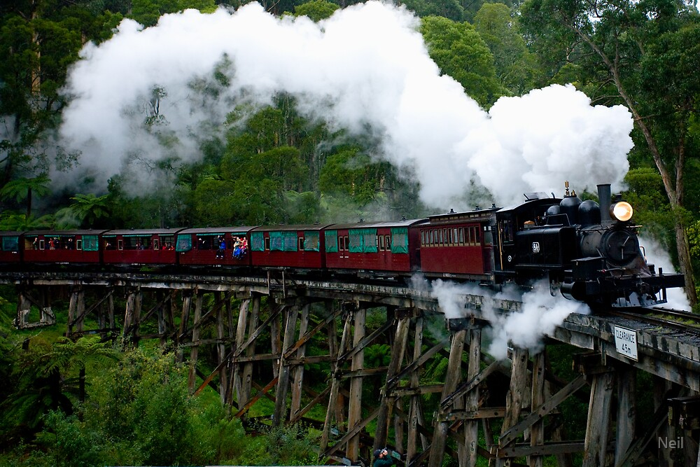 Puffffing Billy by Neil