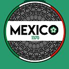 Mexico by Calum Margetts Illustration