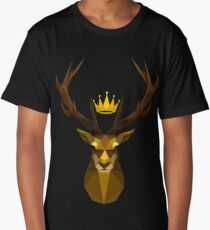 The crowned stag of House Baratheon Long T-Shirt