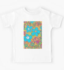 Swirling Happiness Flowers Kids Clothes