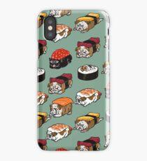 Sushi English Bulldog iPhone Case/Skin