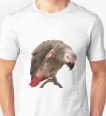 Einstein African Grey Parrot Waving T-Shirt