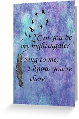 My Nightingale by HopeWontFade